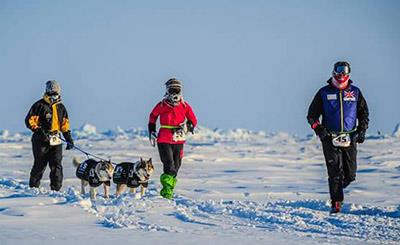 Rob Shenton North Pole Marathon