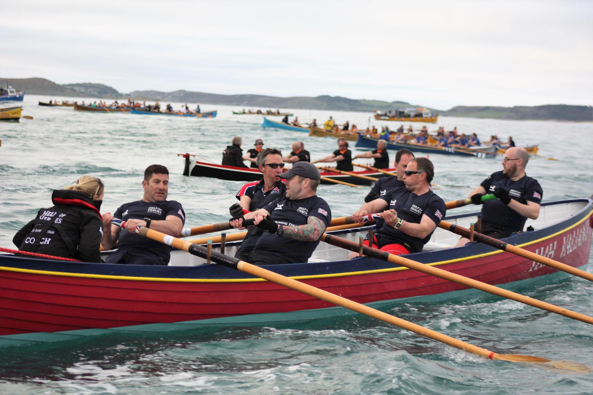 The Veterans Race in the Isles of Scilly