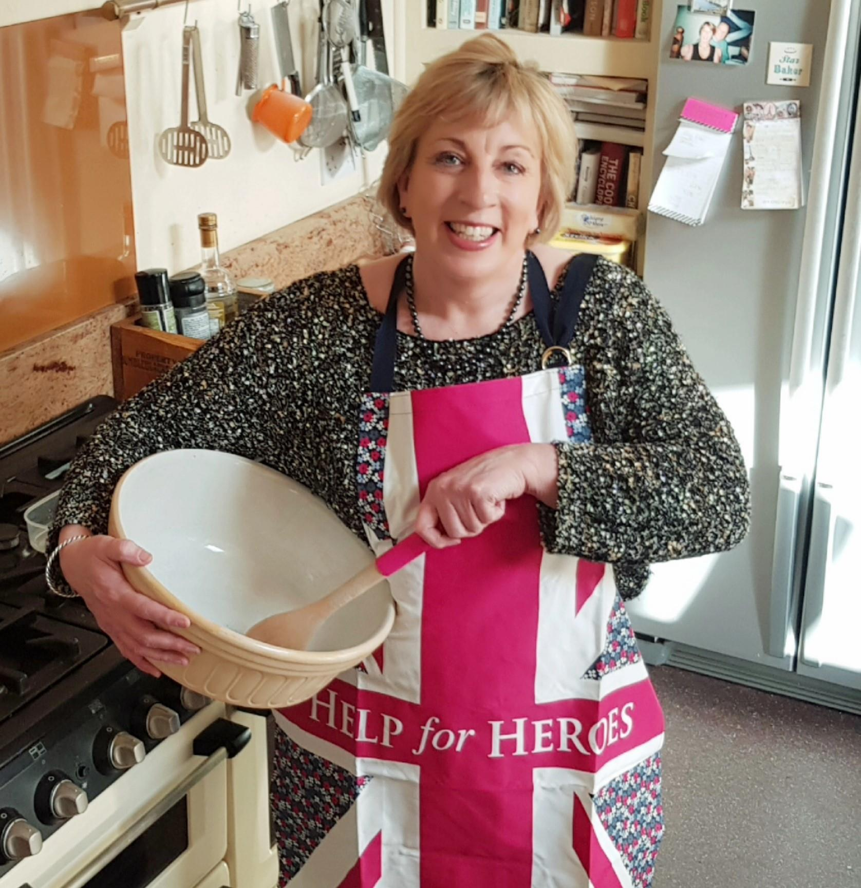 Great British Bake Off contestant, Sandy Docherty is proud ...