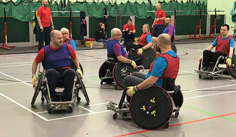 Wheelchair Rugby - Phoenix House Winter Games